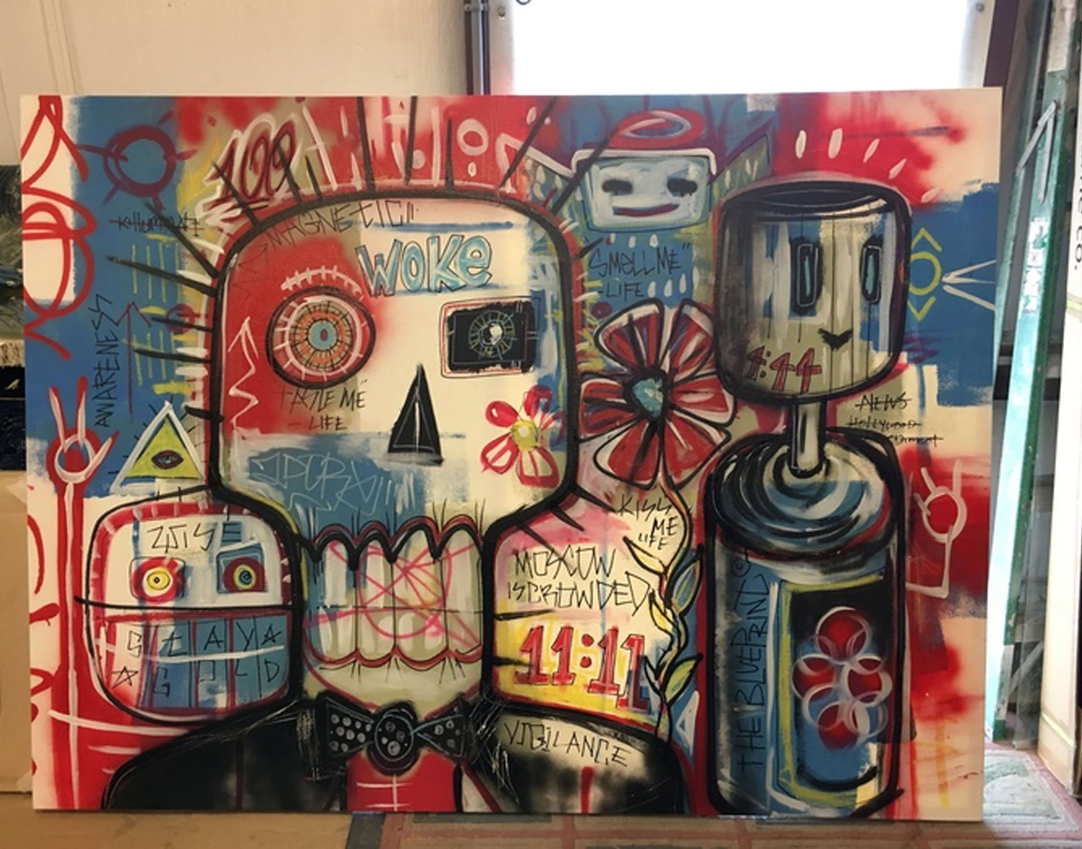 60 x 79 Artist Wrap Canvas